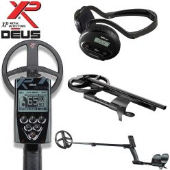 (3) XP Deus Metal Detector - Package 3 with the 9-inch Searchcoil