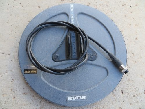 "Nugget Finder Advantage 12"" Round Solid Mono Coil"