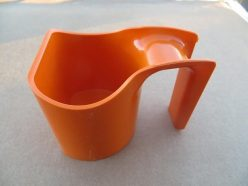 Orange Nugget Scoop Cup