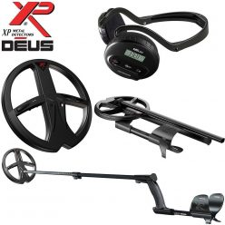 (4) XP Deus Metal Detector - Package 4 with 9-inch Searchcoil