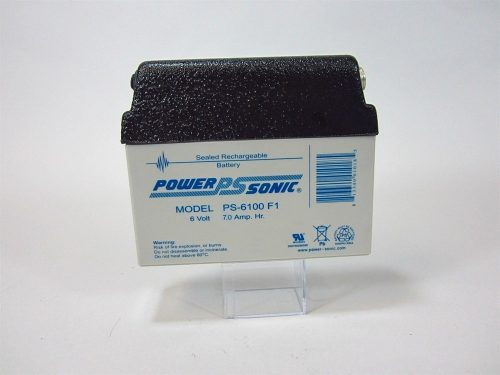 6v 7ah Dome Top Battery
