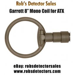 "8"" Mono Searchcoil for Garrett ATX Metal Detector"
