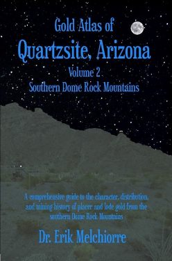 Gold Atlas of Quartzsite Arizona, Vol. 2