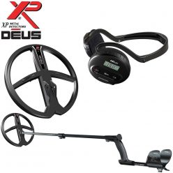 (1) XP Deus Metal Detector - Package 1 with 9-inch Searchcoil