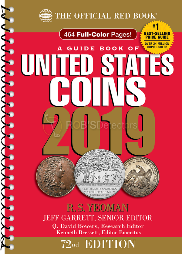 united states coins 2019 book 72st edition official red bookunited states coins 2019 book 72st edition \u2013 official red book